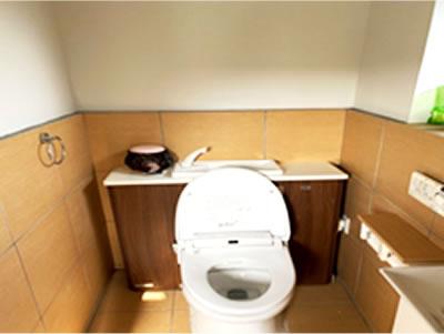 体験農園女子トイレ