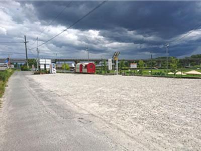 体験農園駐車場